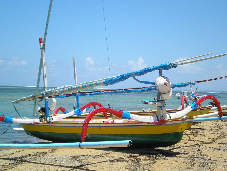 Bateau coloré Jimbaran Bali