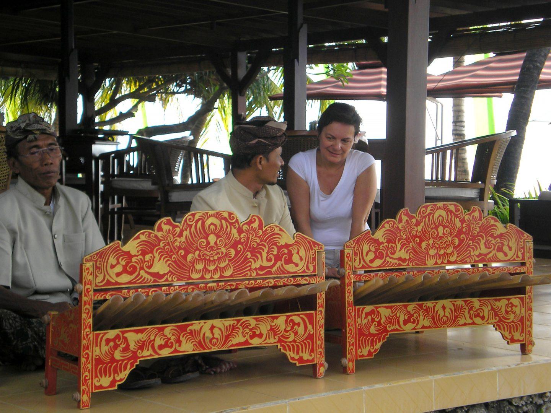 Cours de gamelan Sanur Bali