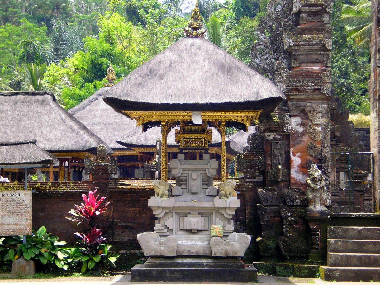 Entrée temple Tirta Empul Bali