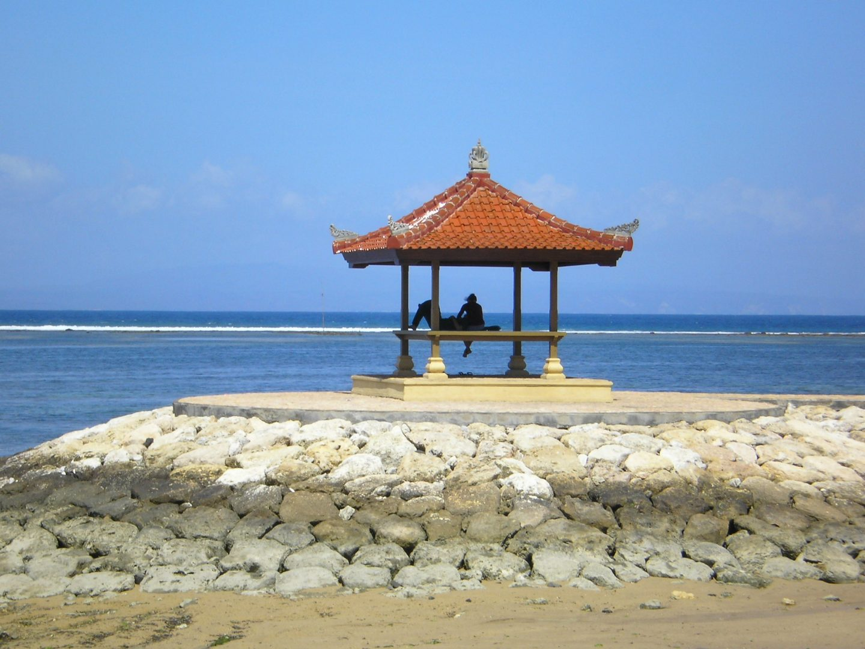 Front de mer plage Sanur Bali