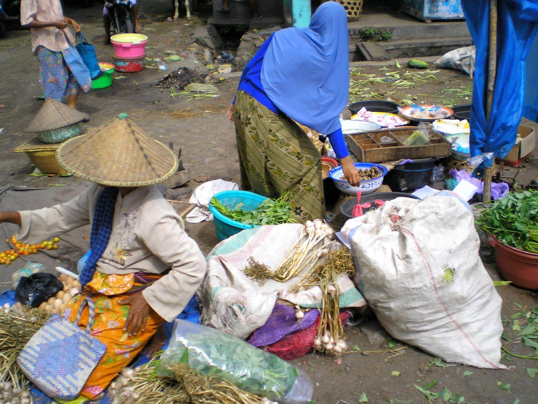 Marché Mataram Lombok