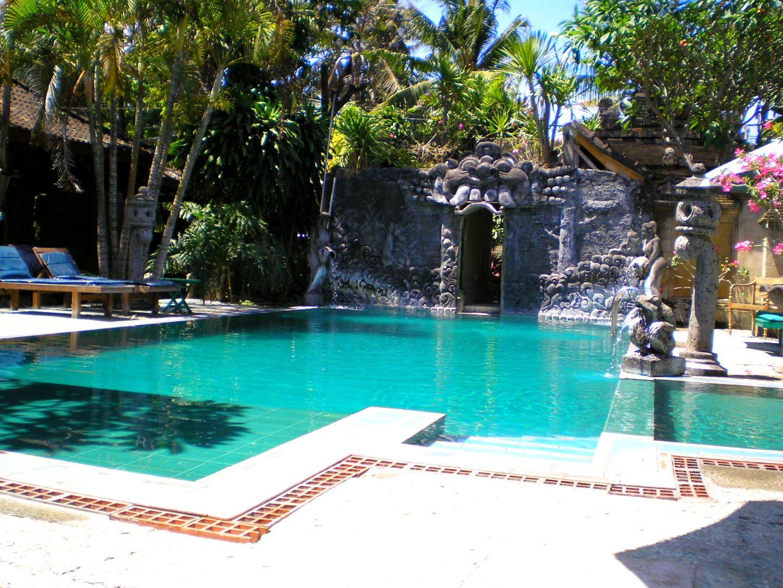 Piscine hotel Sagittarius d'Ubud Bali