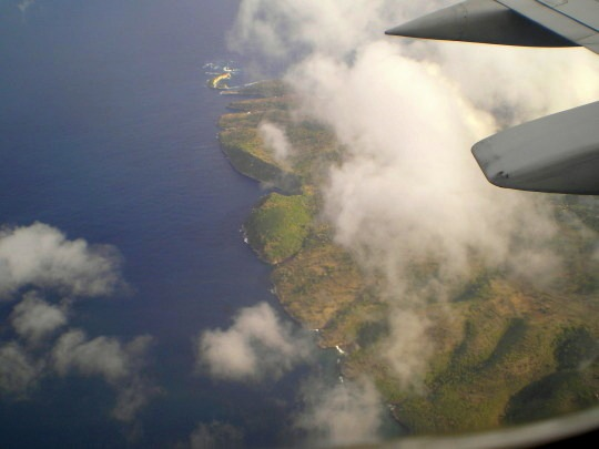 Vol entre Bali et Lombok