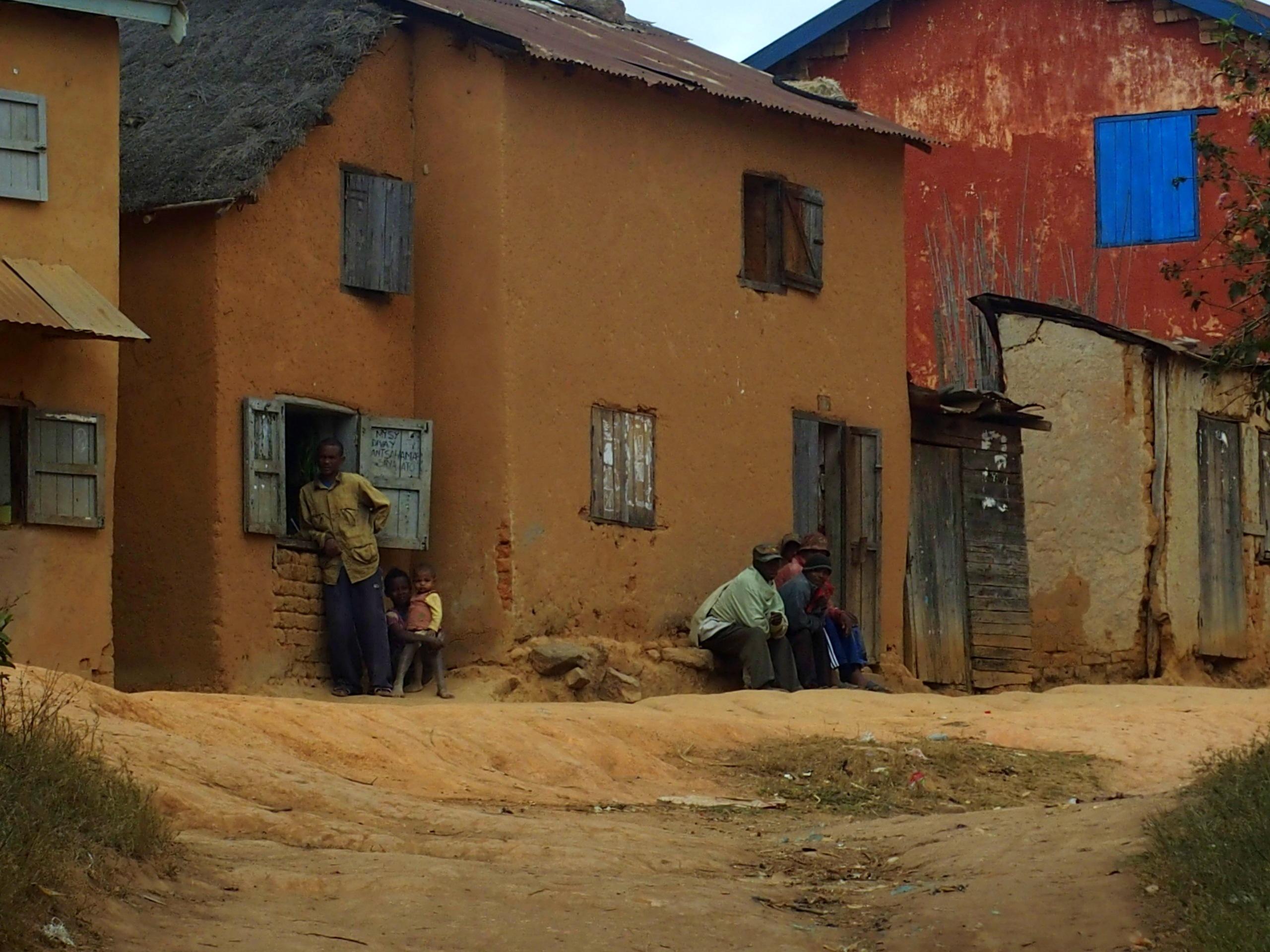 Ambiance-de-village-Madagascar