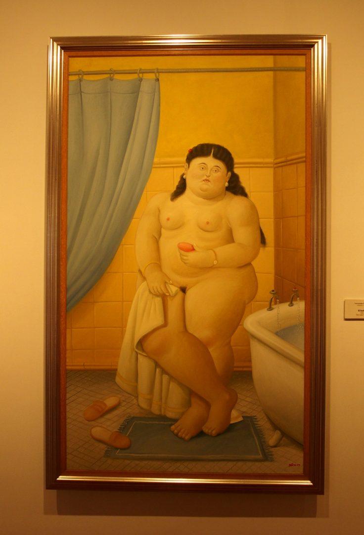 El bano Musée Botéro Bogota Colombie