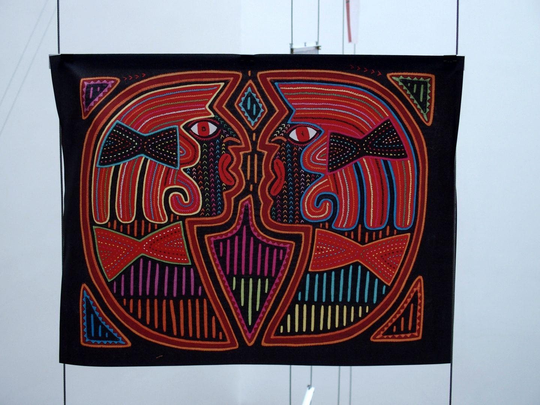 Expo textiles Musée de l'Or Bogota Colombie
