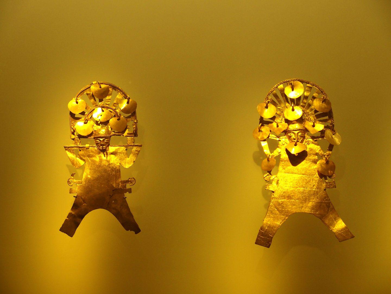 Figurines Musée de l'Or Bogota Colombie