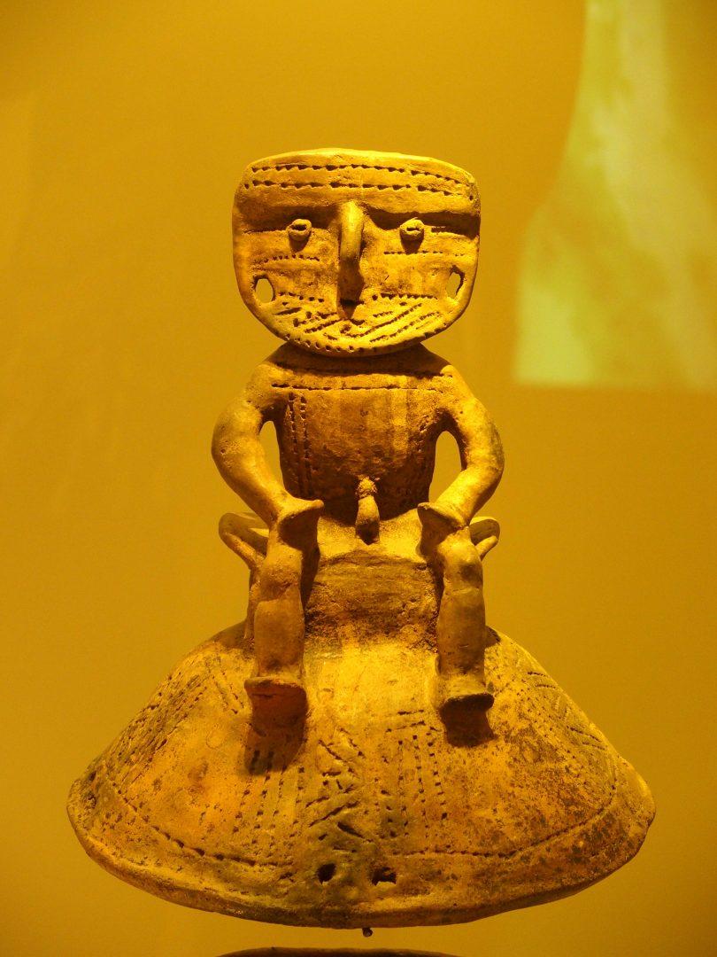 Homme assis Musée de l'Or Colombie
