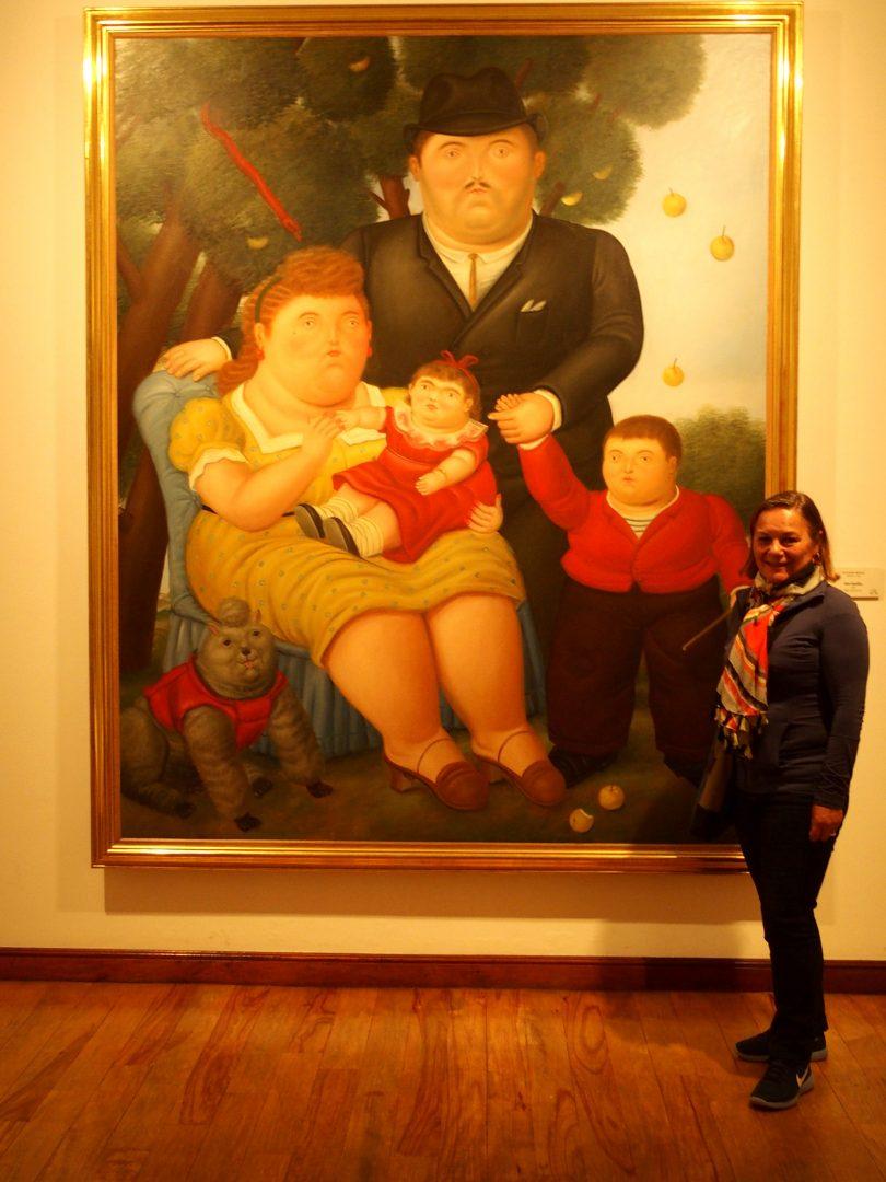 La Famille Musée Botéro Bogota Colombie