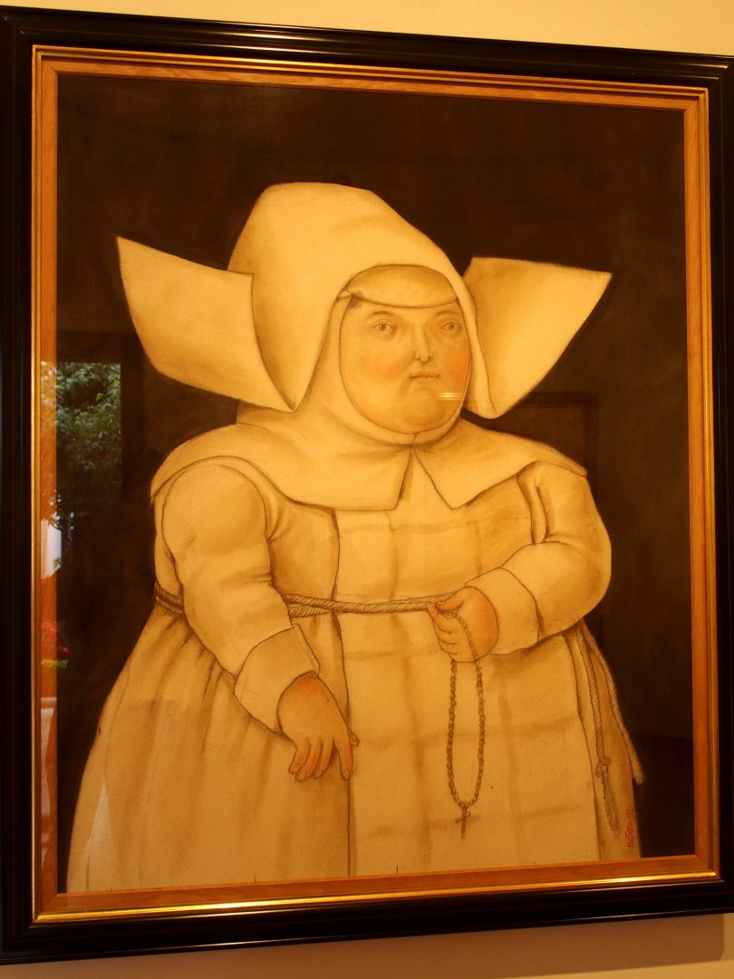 La mère supérieure Musée Botéro Bogota Colombie
