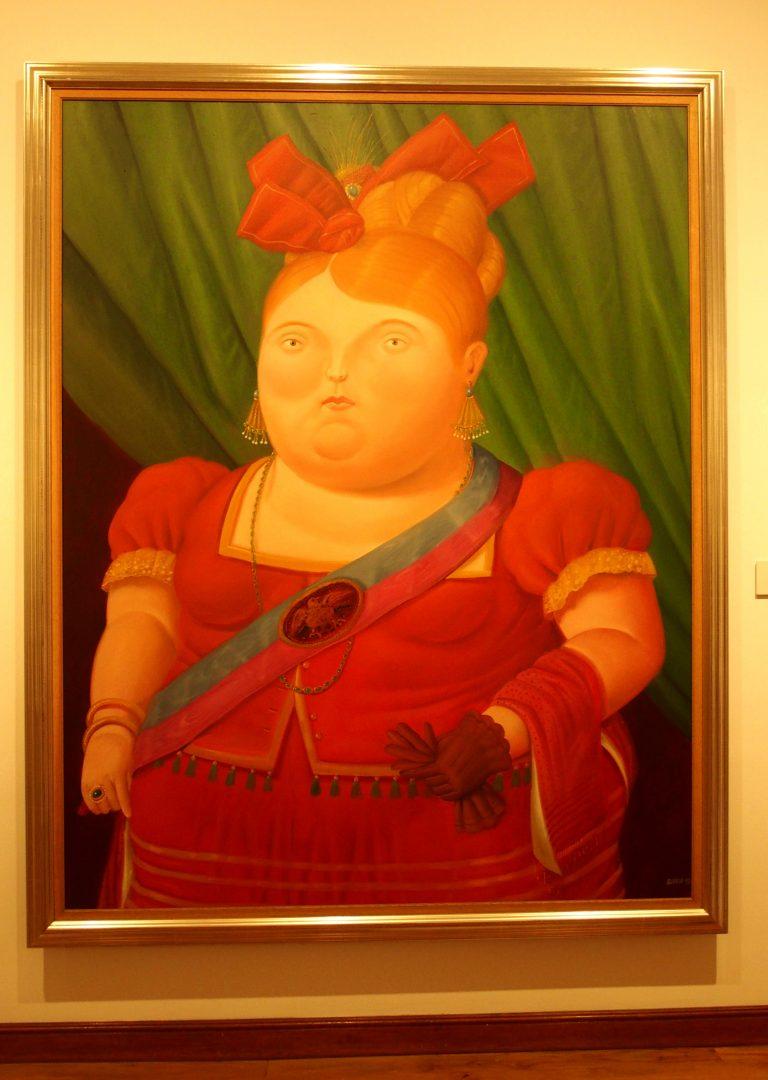 La primera dama Musée Botéro Bogota Colombie