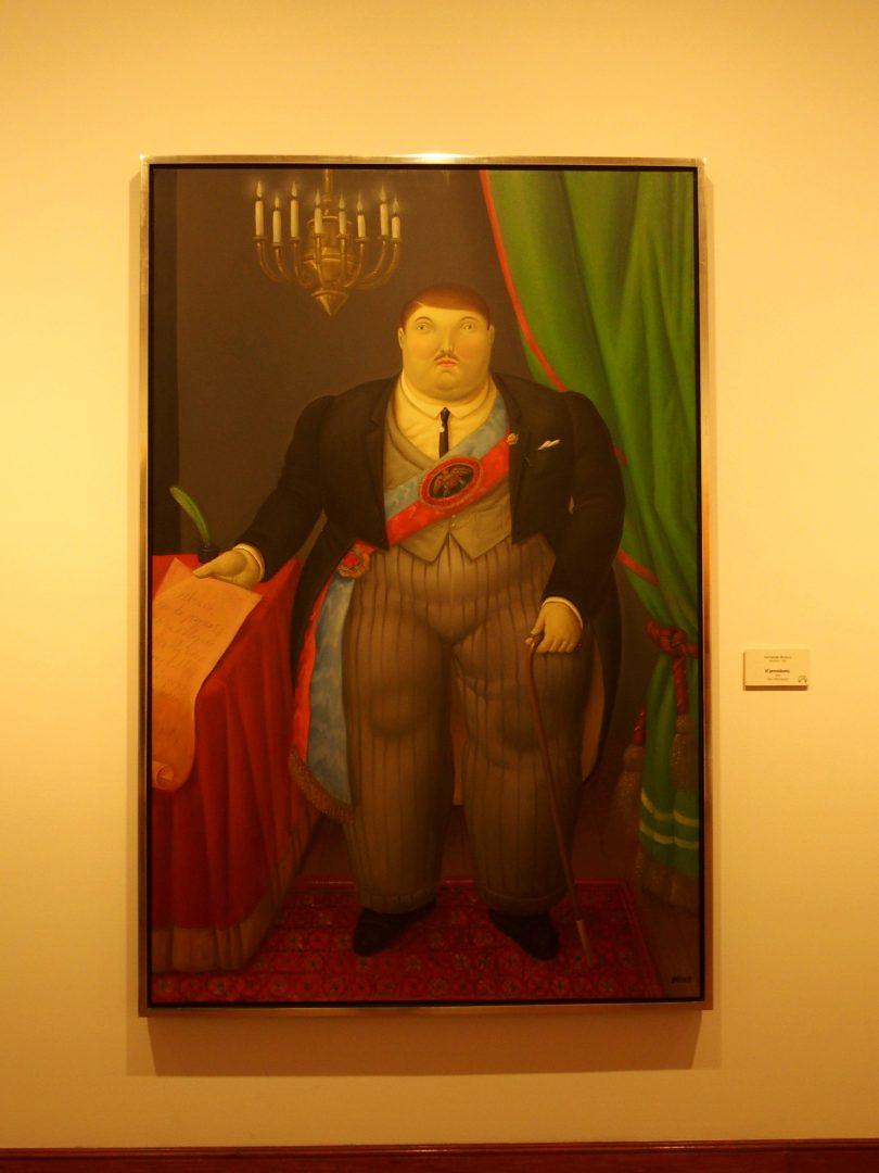Le Président Busée Botéro Bogota Colombie