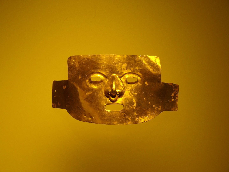 Masque Musée de l'Or Bogota Colombie