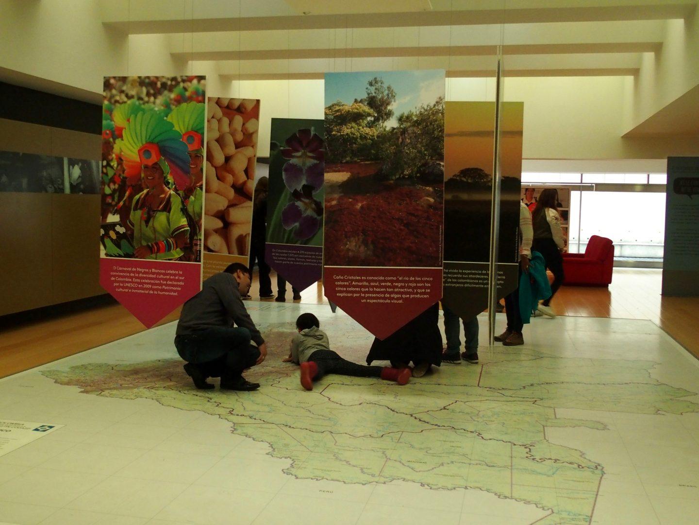 Pédagogie au Musée de l'Or Bogota Colombie