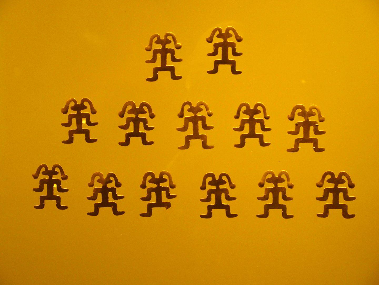 Pièces bijoux Musée de l'Or Bogota Colombie