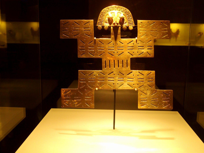 Pièce du Musée de l'Or Bogota Colombie