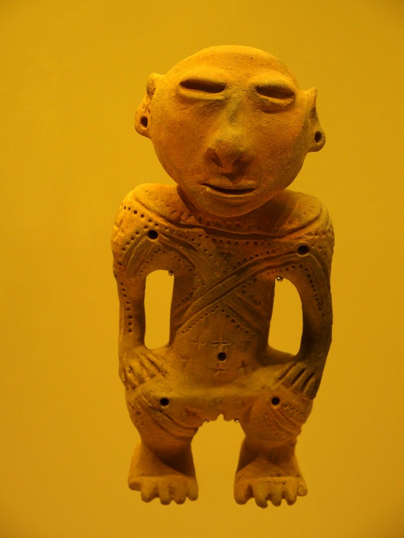 Poterie Homme Musée de l'Or Bogota Colombie