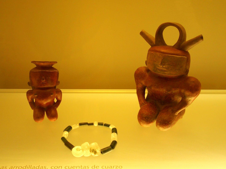 Poteries et bijou Musée de l'Or Bogota Colombie