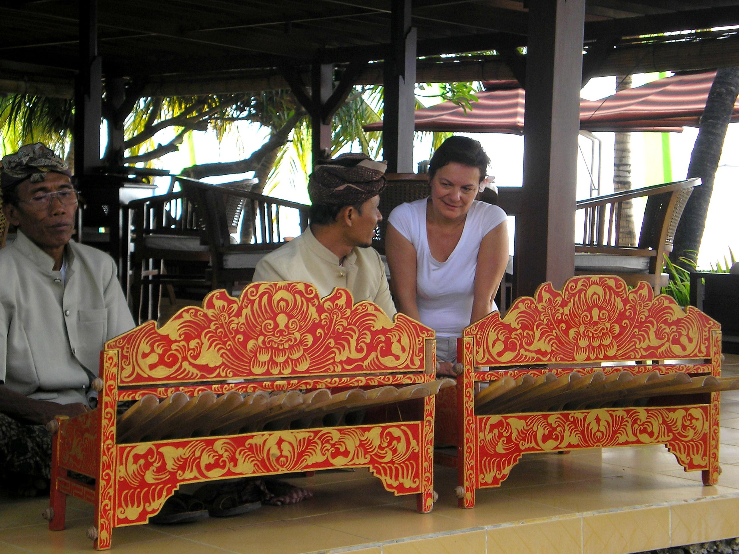 Cours de gamelan à Sanur Bali