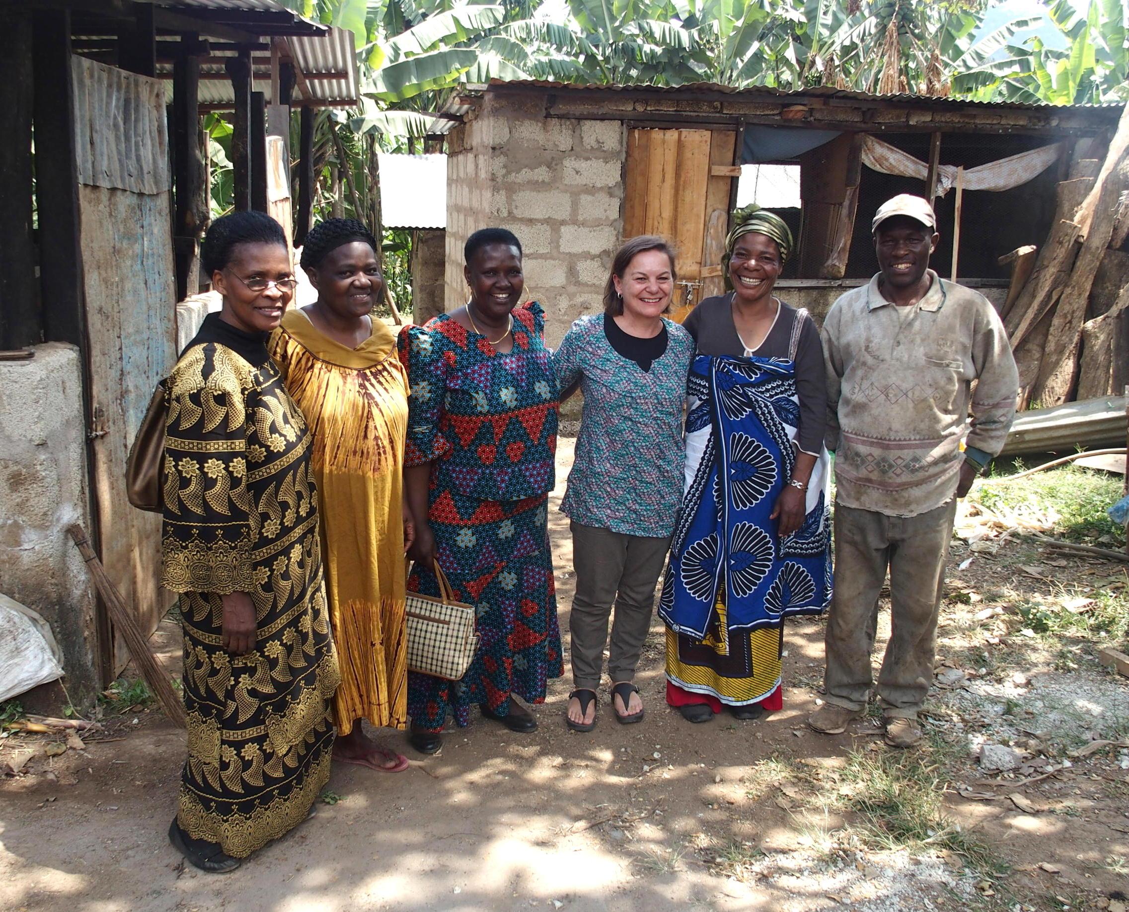 Journée dans un potager des membres de Slow Food Tanzanie