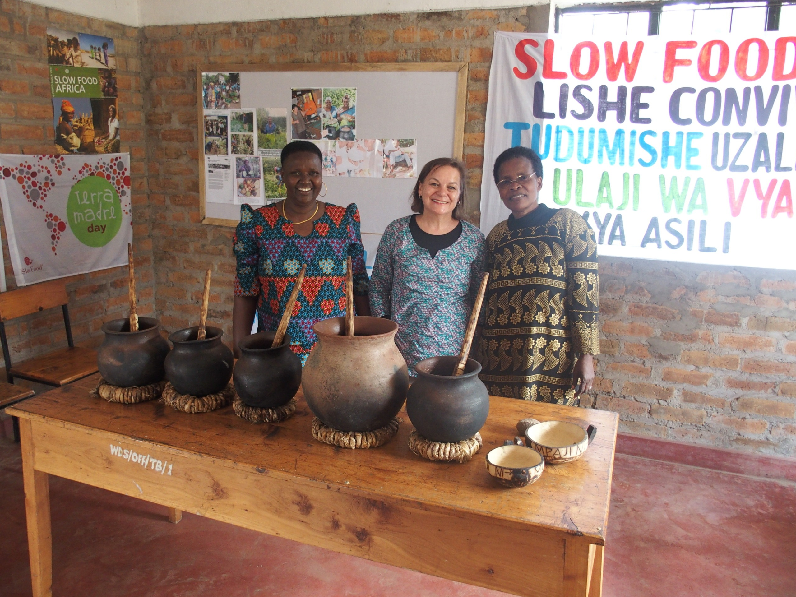 Rencontre avec les membres de Slow Food Tanzanie