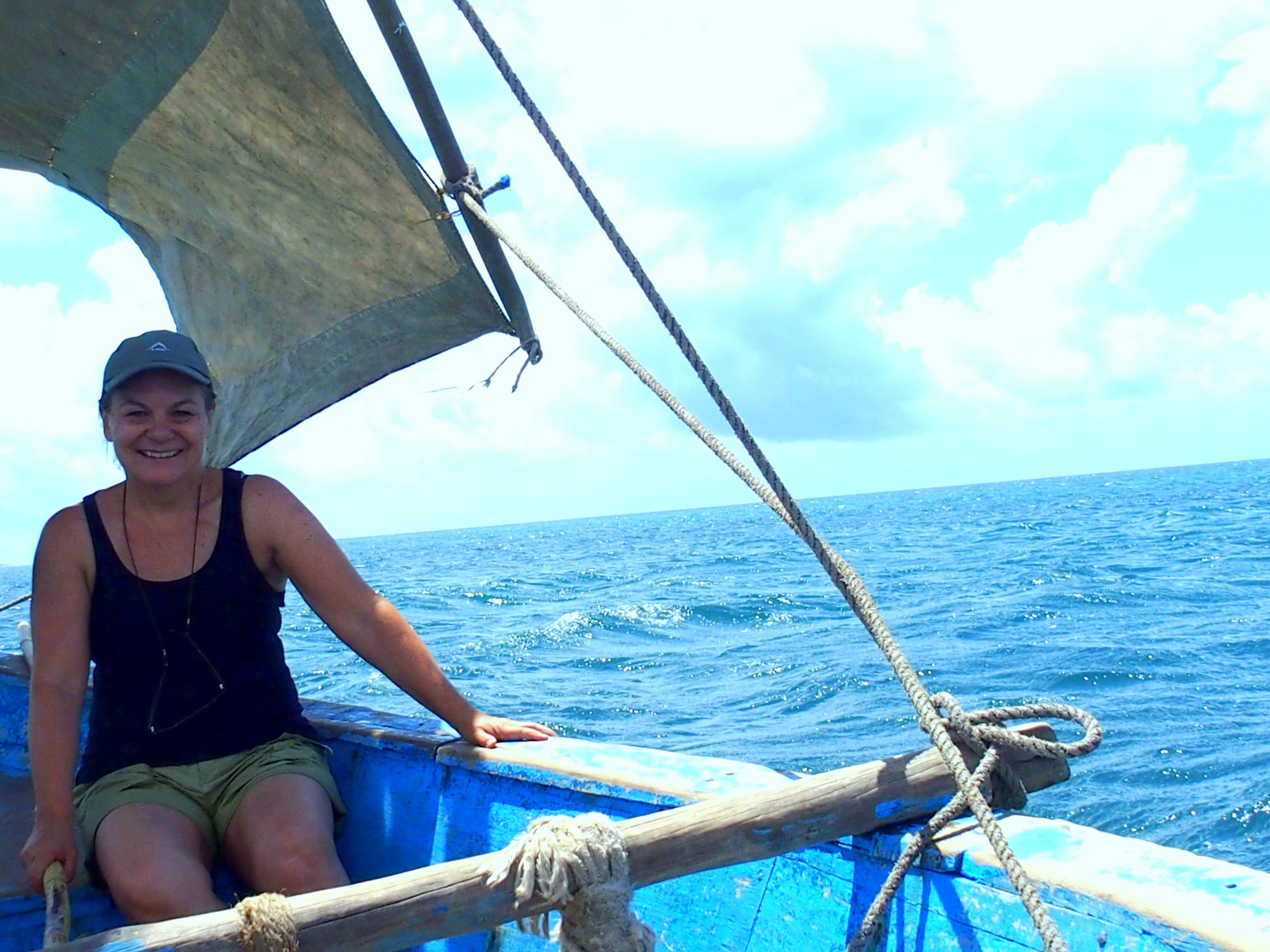 Slow travel à bord d'un dhow Mozambique.