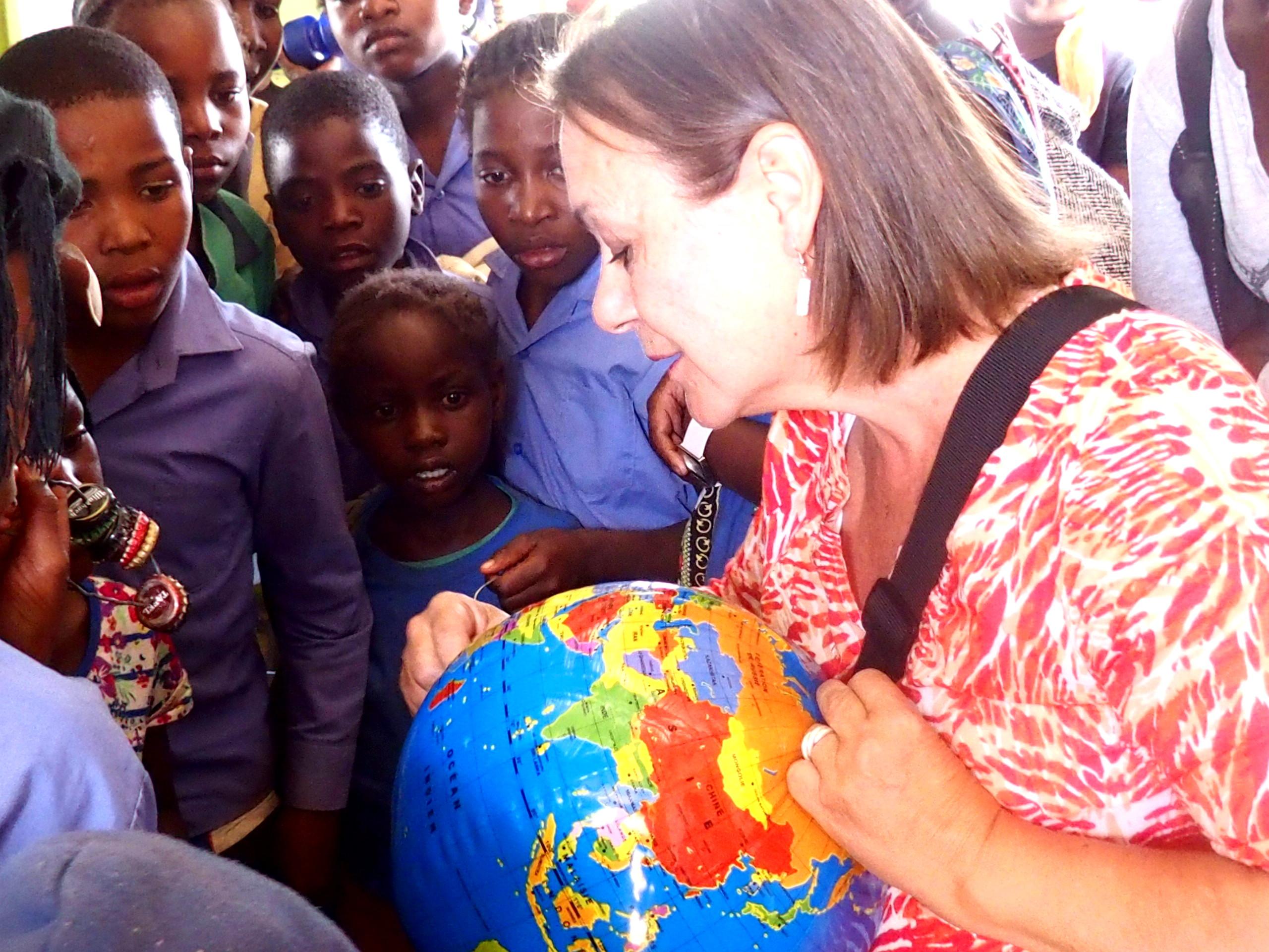 Cours de géographie et Slow Travel en Namibie