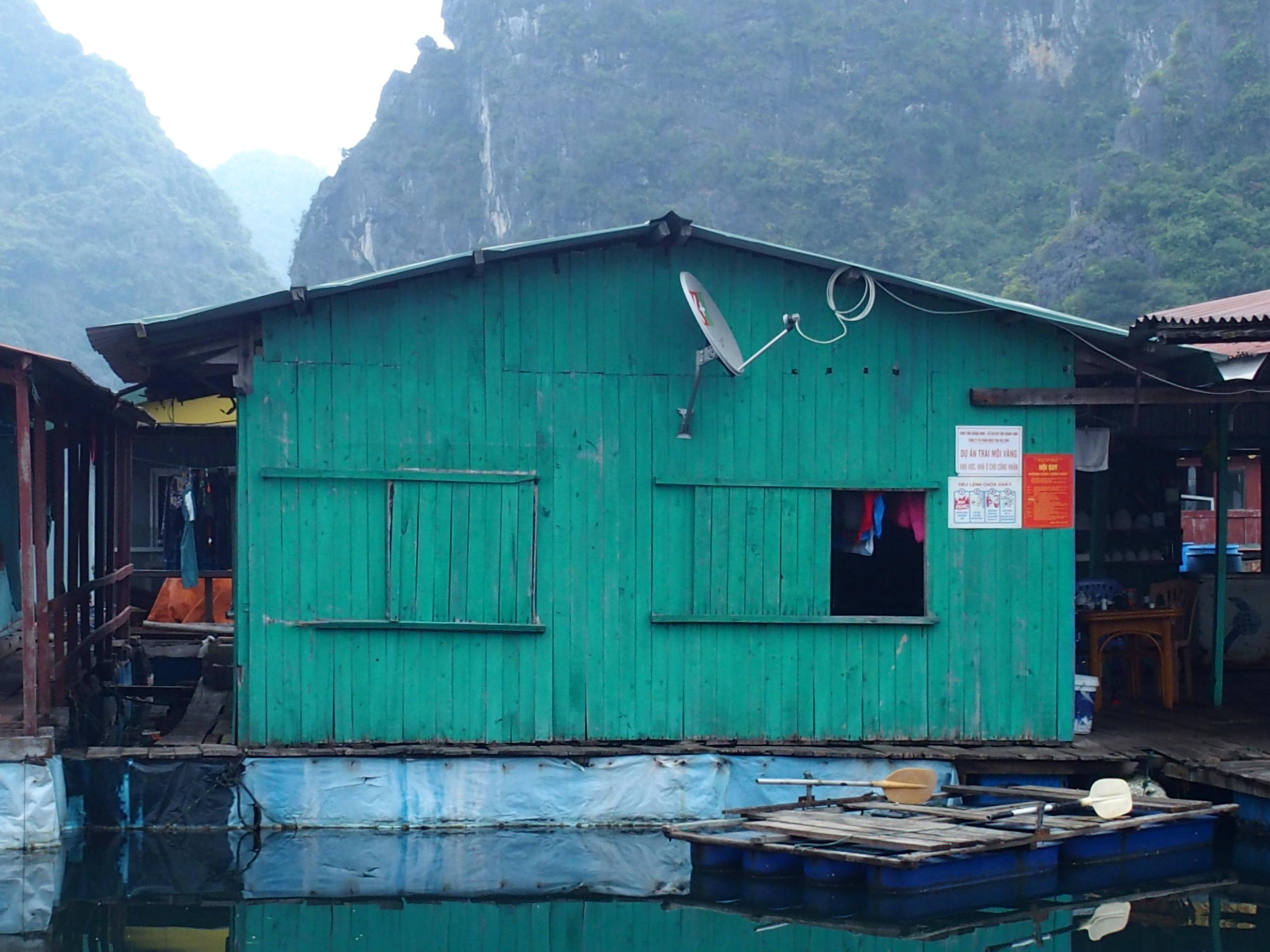 Ferme perlière baie dHalong souvenirs du Vietnam