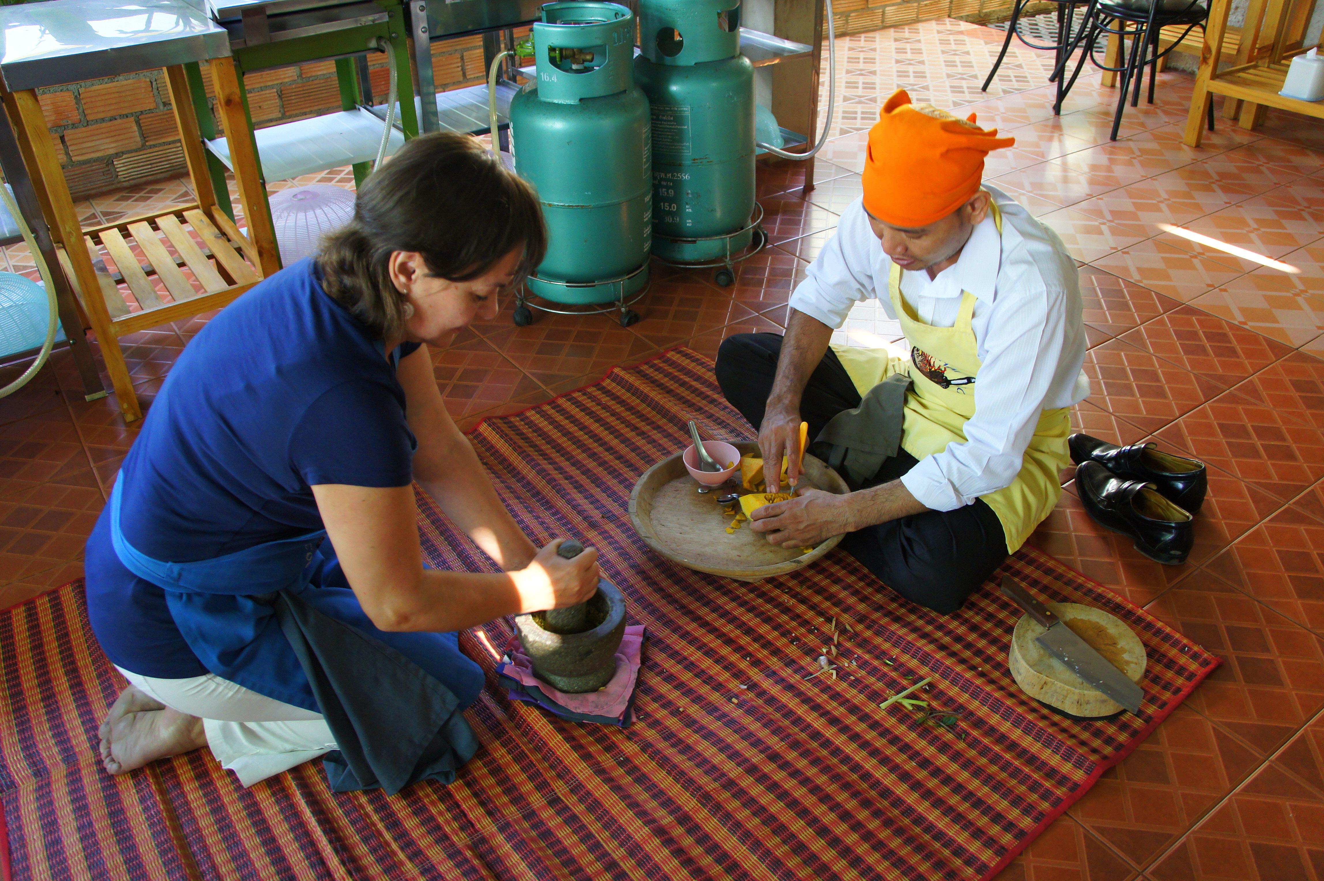 Slow Travel et cours de cuisine Chiang Mai Thailande