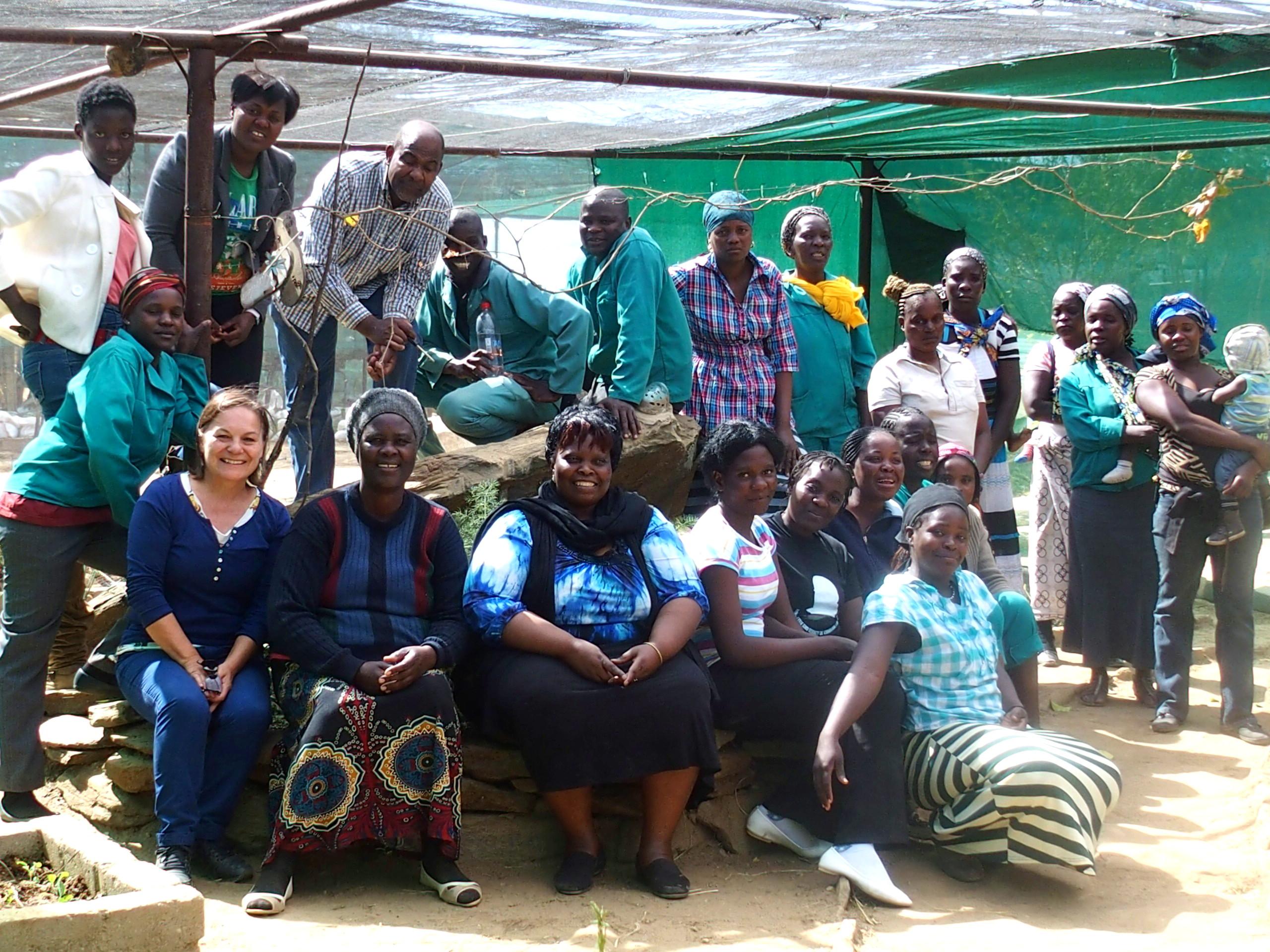 Slow travel et bénévolat avec association HISA Namibie