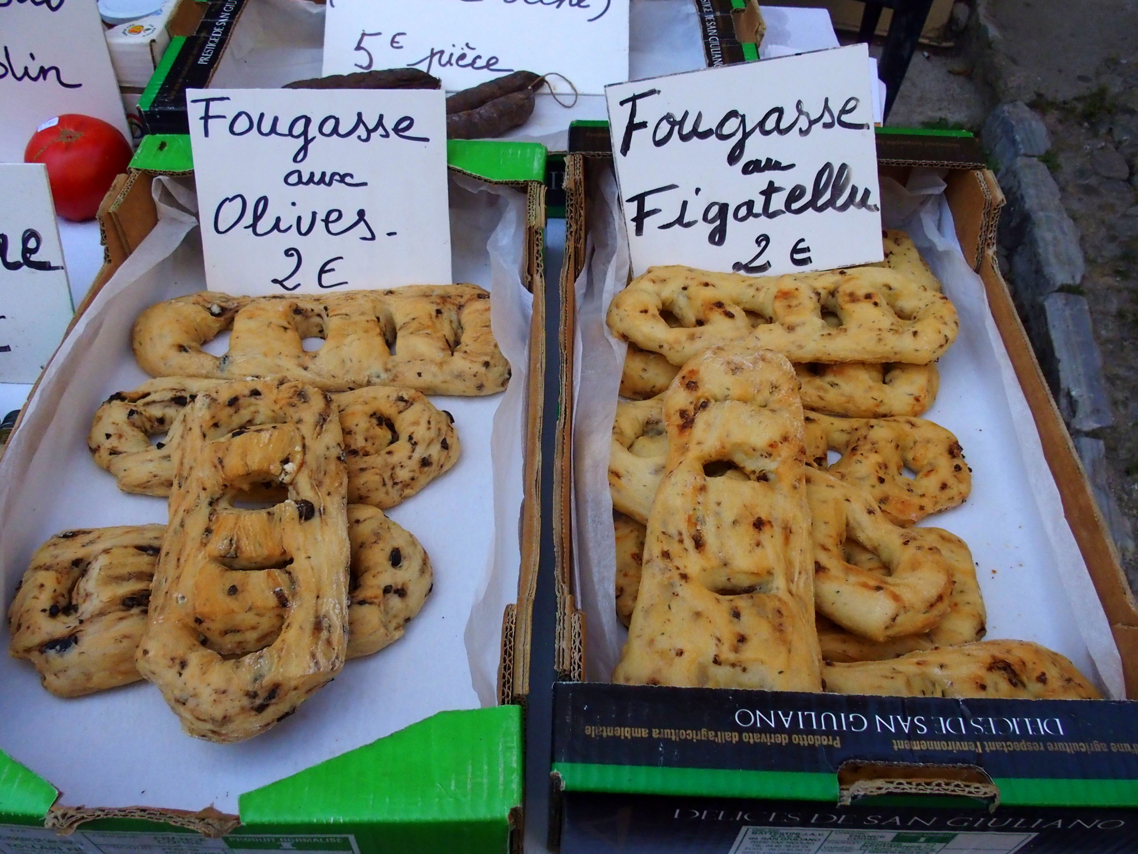 Fougasses cuisine slow food et slow tourisme Corse