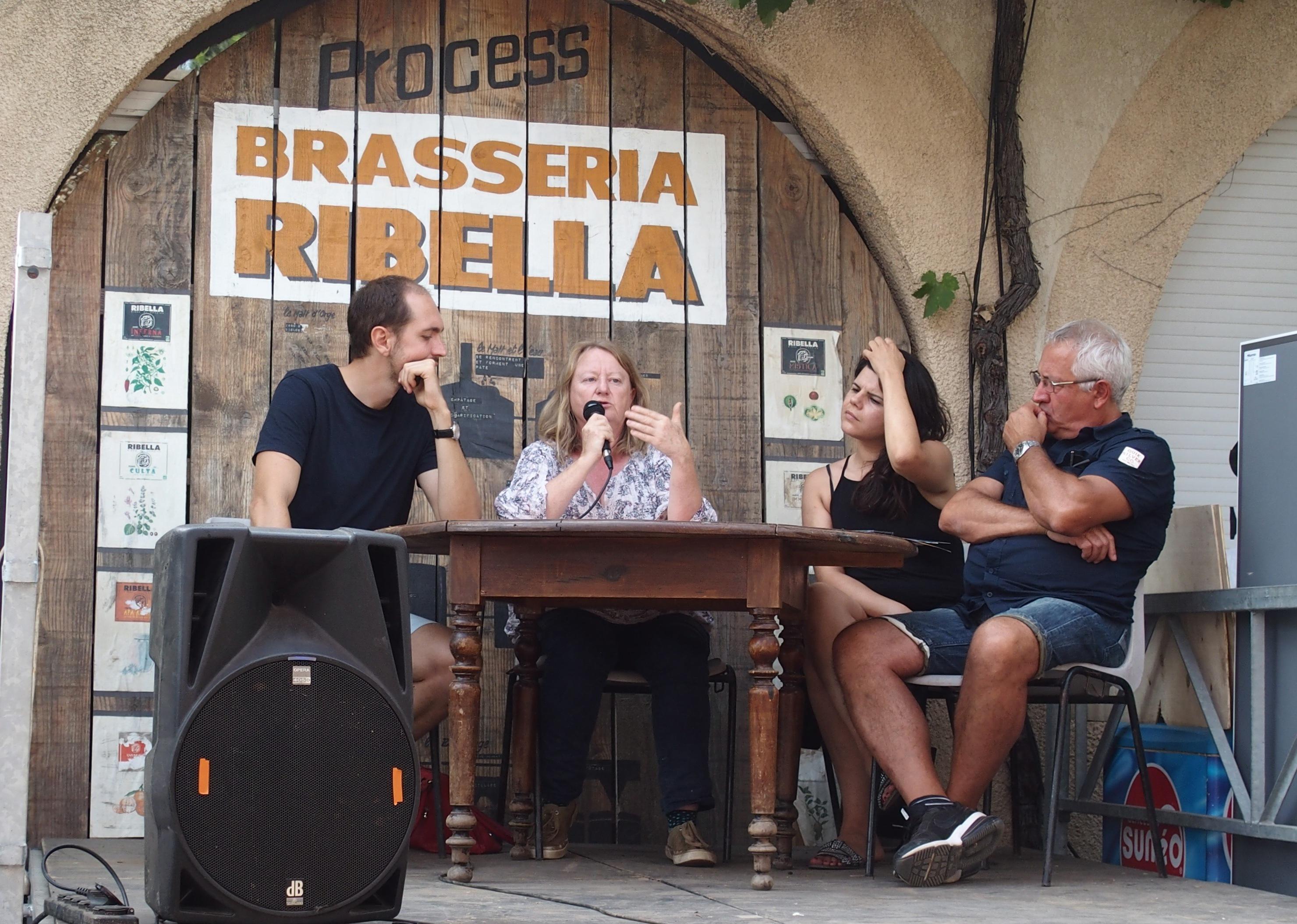 Conférence Slow Food Festival Ribellazione Patrimonio Corse