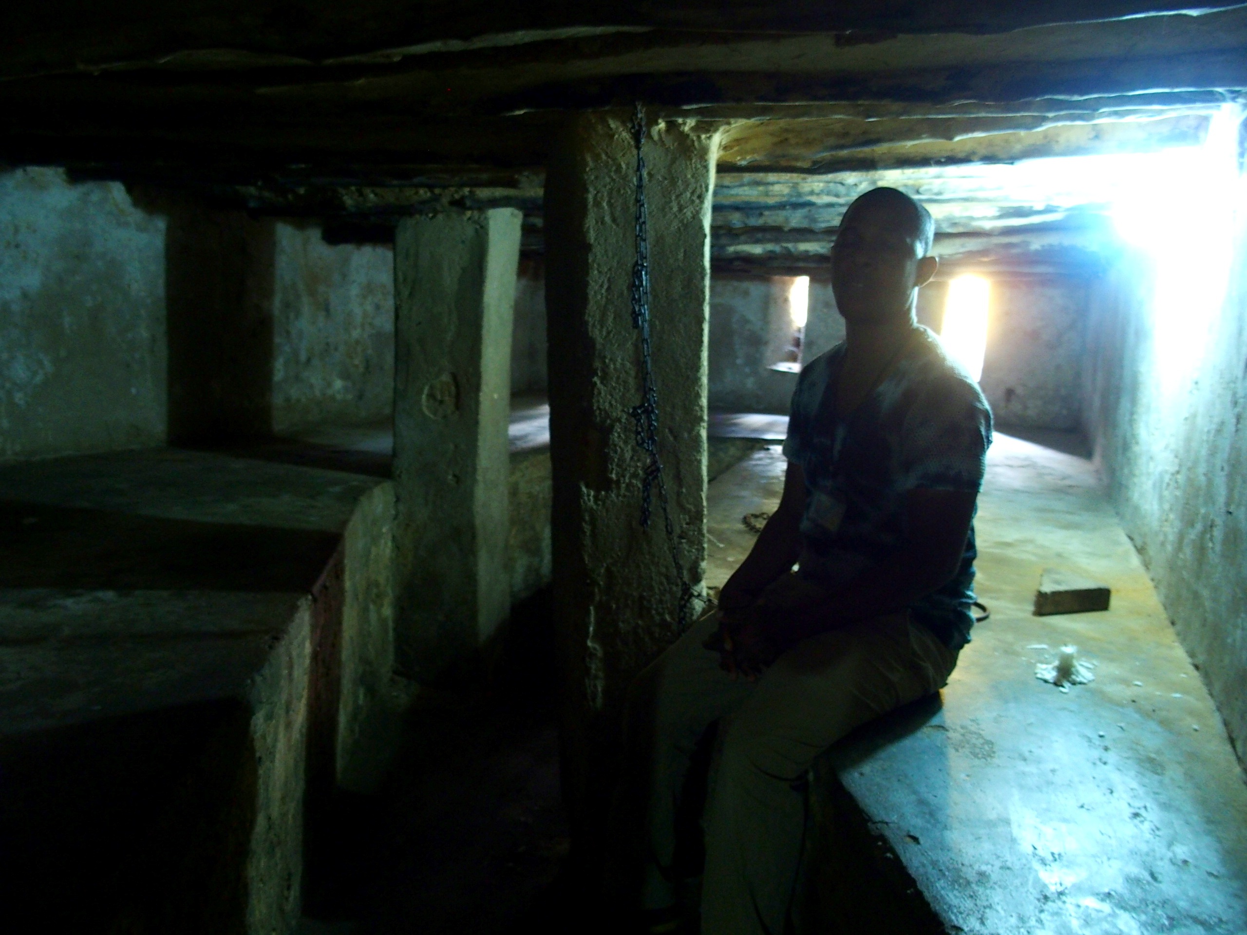 Dans les cachots des esclaves Stone Town Zanzibar