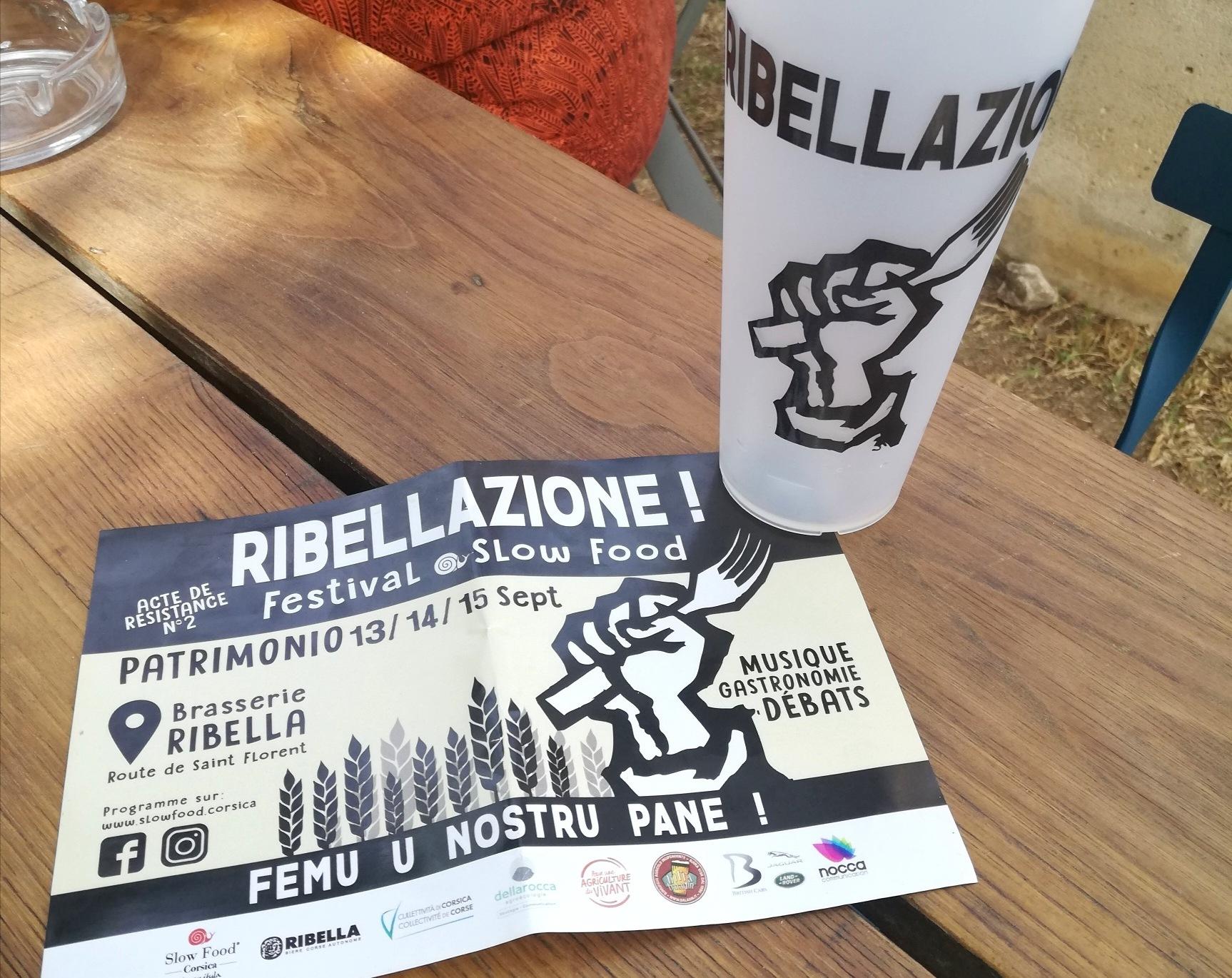 Festival Ribellazione Slow Food Patrimonio Corse