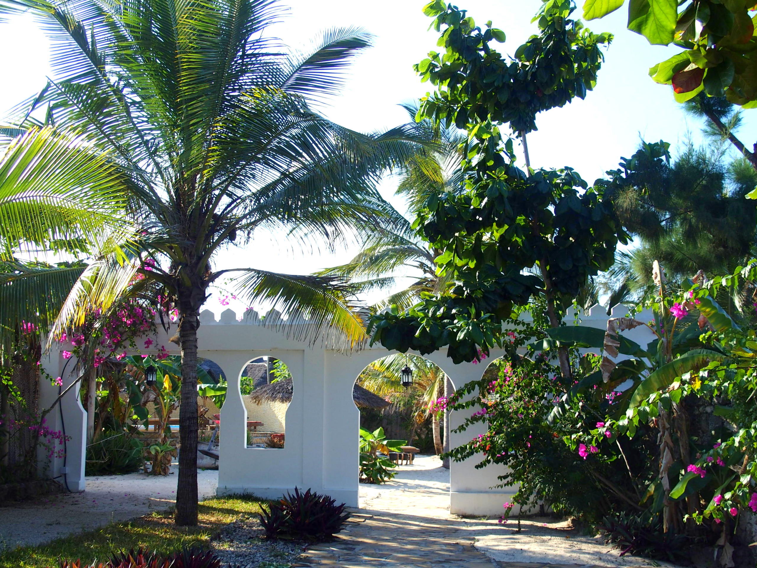 Jardins hotel Seasons lodge Pongwe Zanzibar