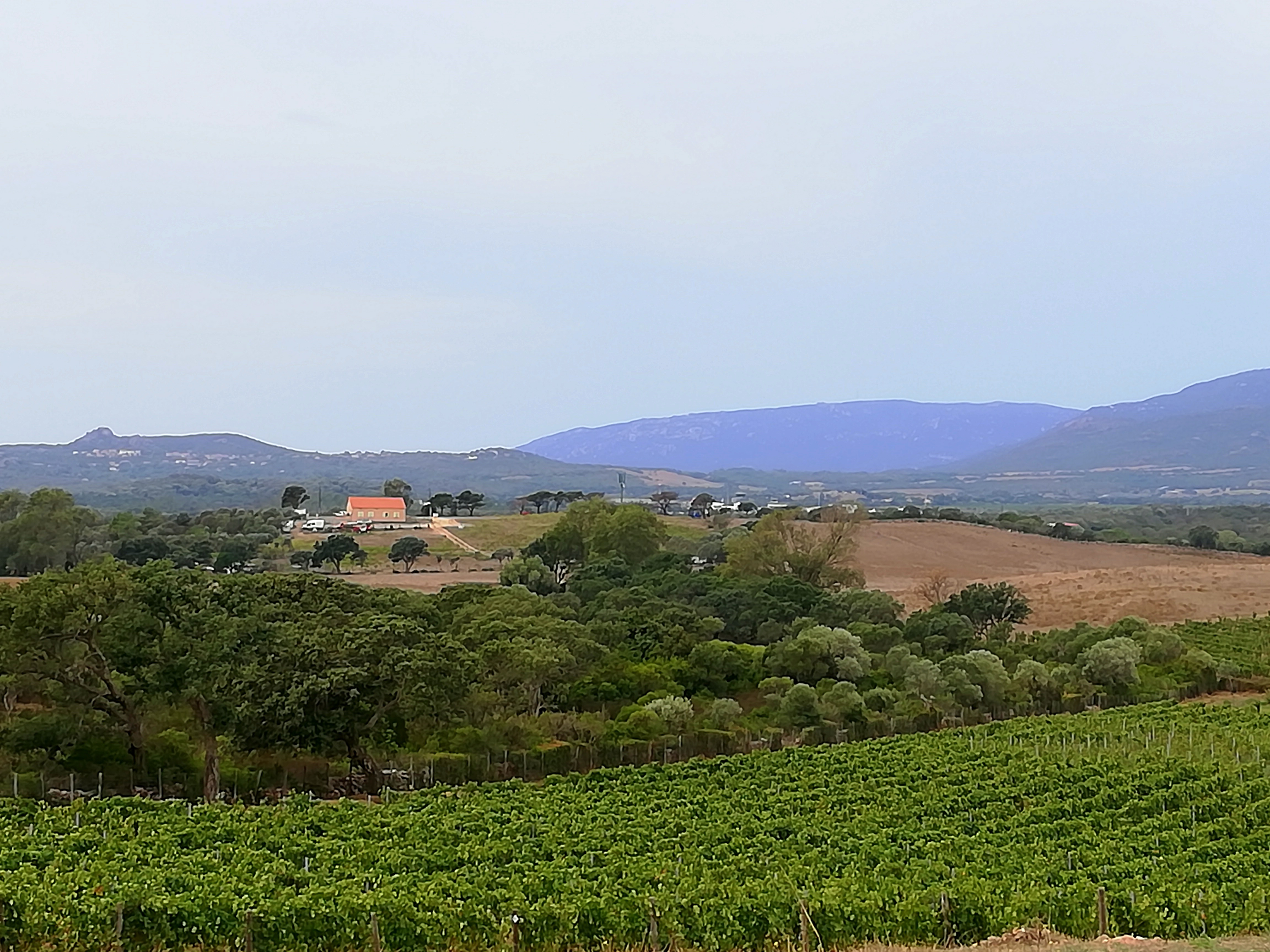 Paysage région de Sartène Corse
