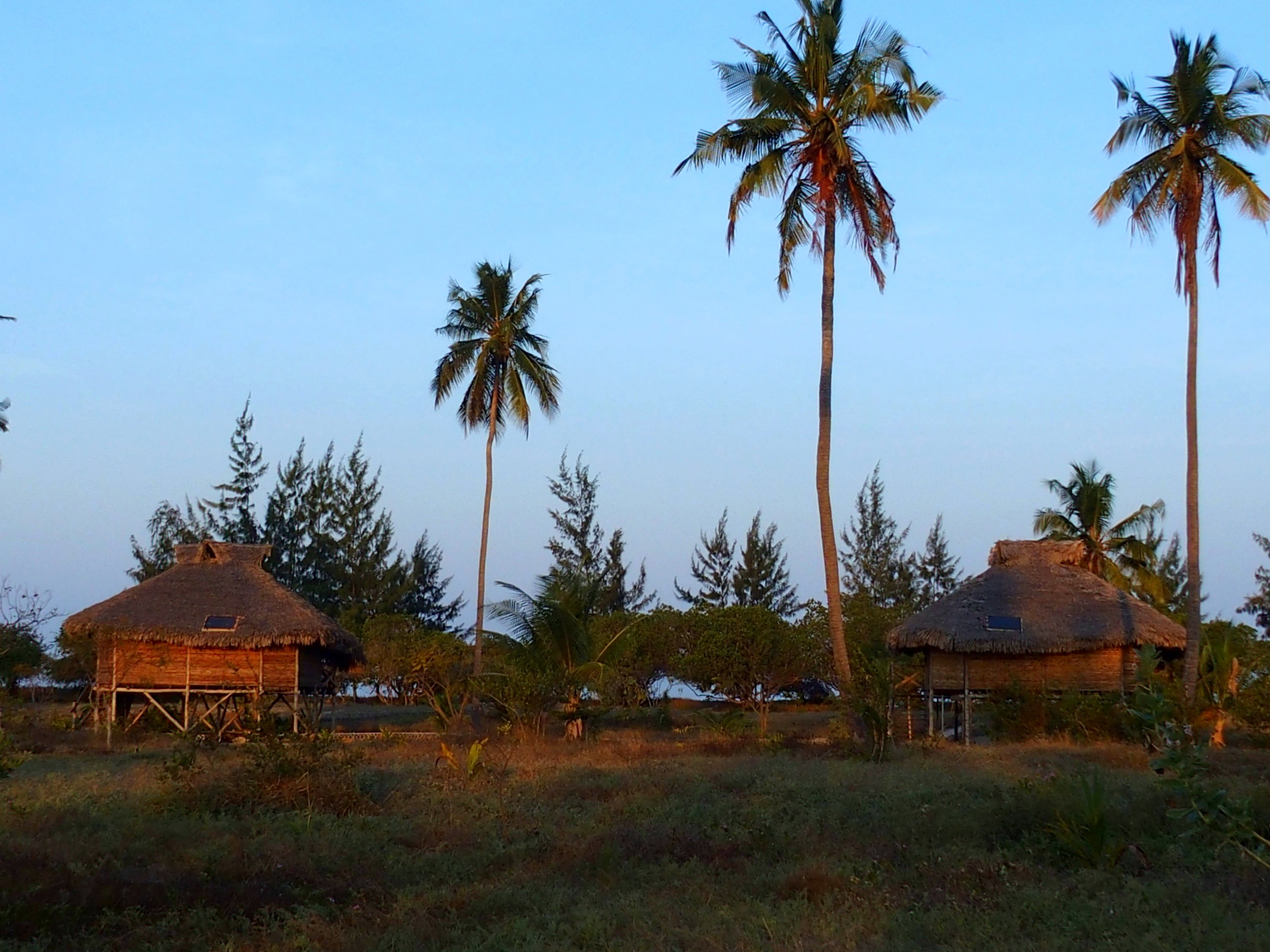 Bungalows de Ulala Lodge Murrebue Mozambique