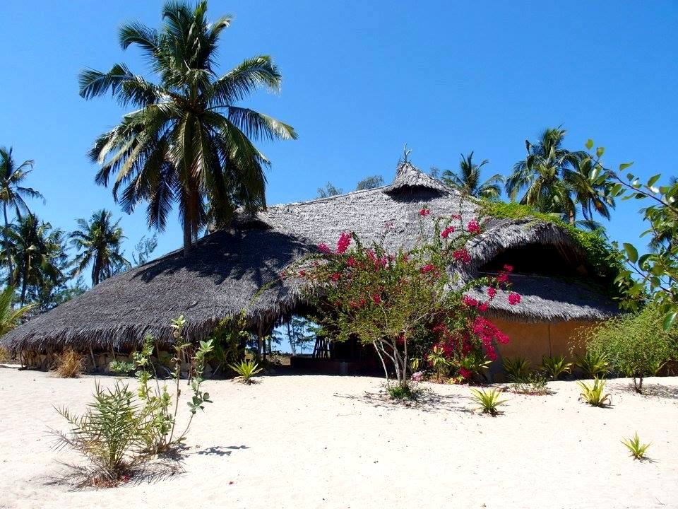 Restaurant de l'ecolodge Ulala Pemba Mozambique