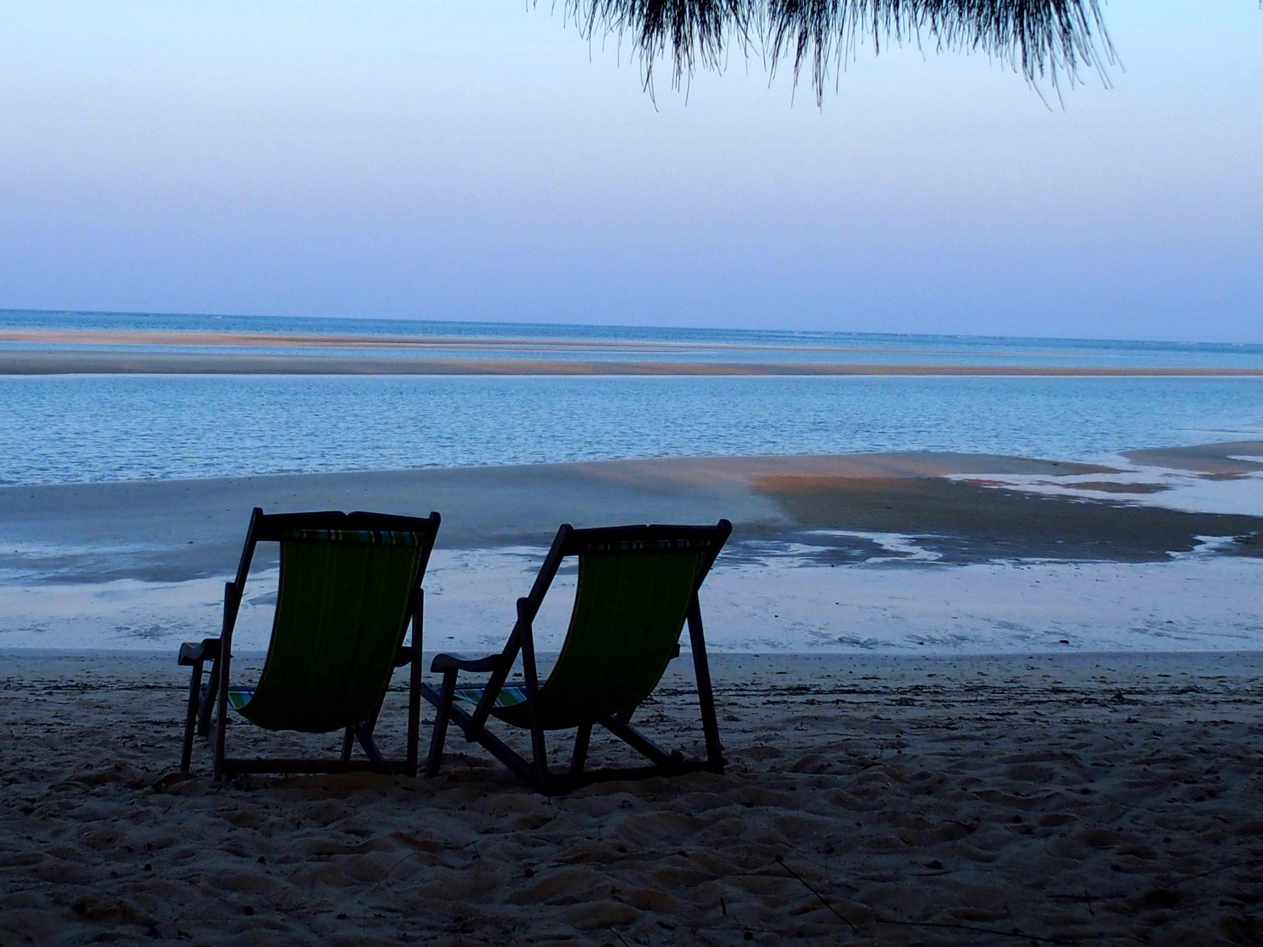Soirée à Ulala lodge Pemba Mozambique.