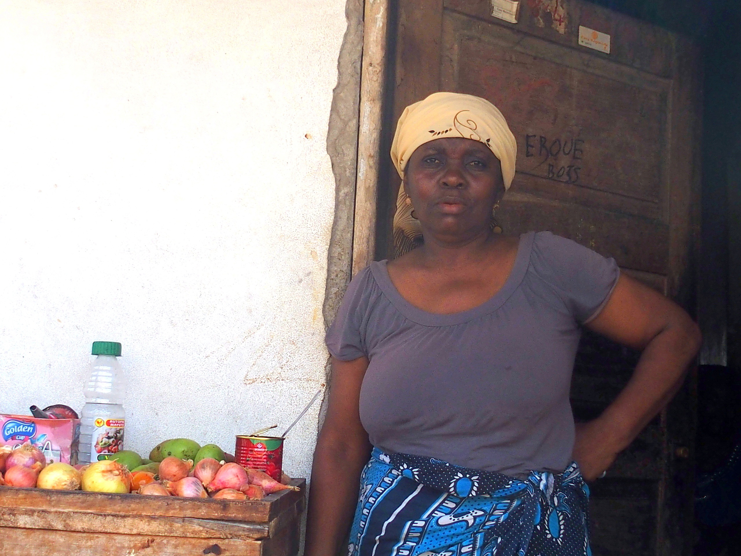 Vendeuse marché Pemba Mozambique