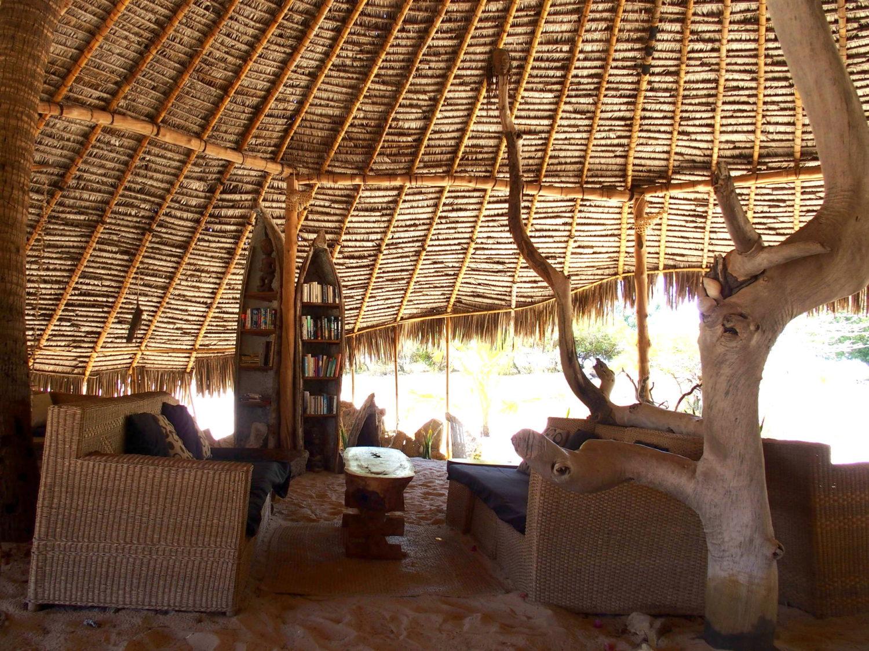 coin salon de l'Ulala lodge - Mozambique.