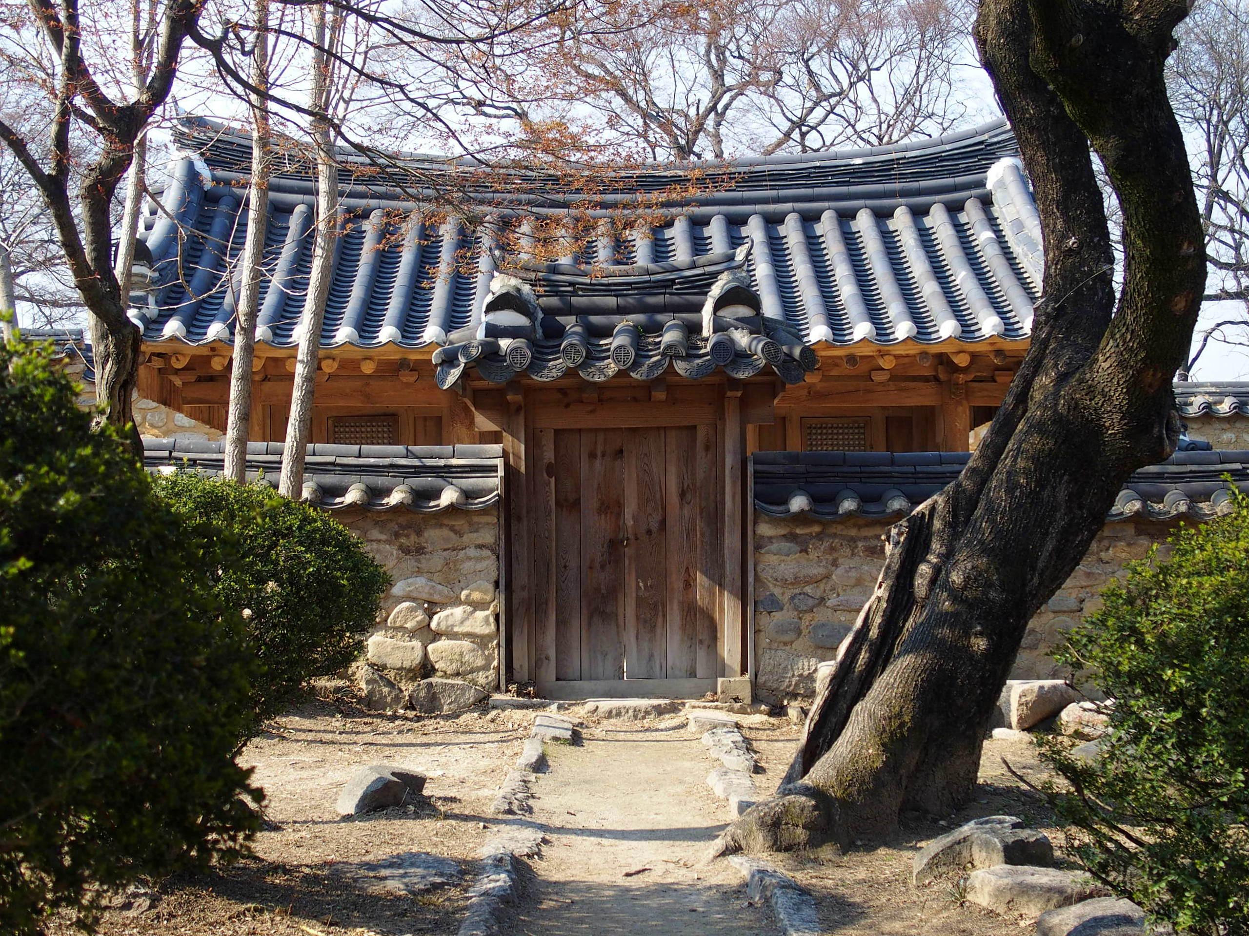 Boutique artisanat village Gyochon Gyeongju
