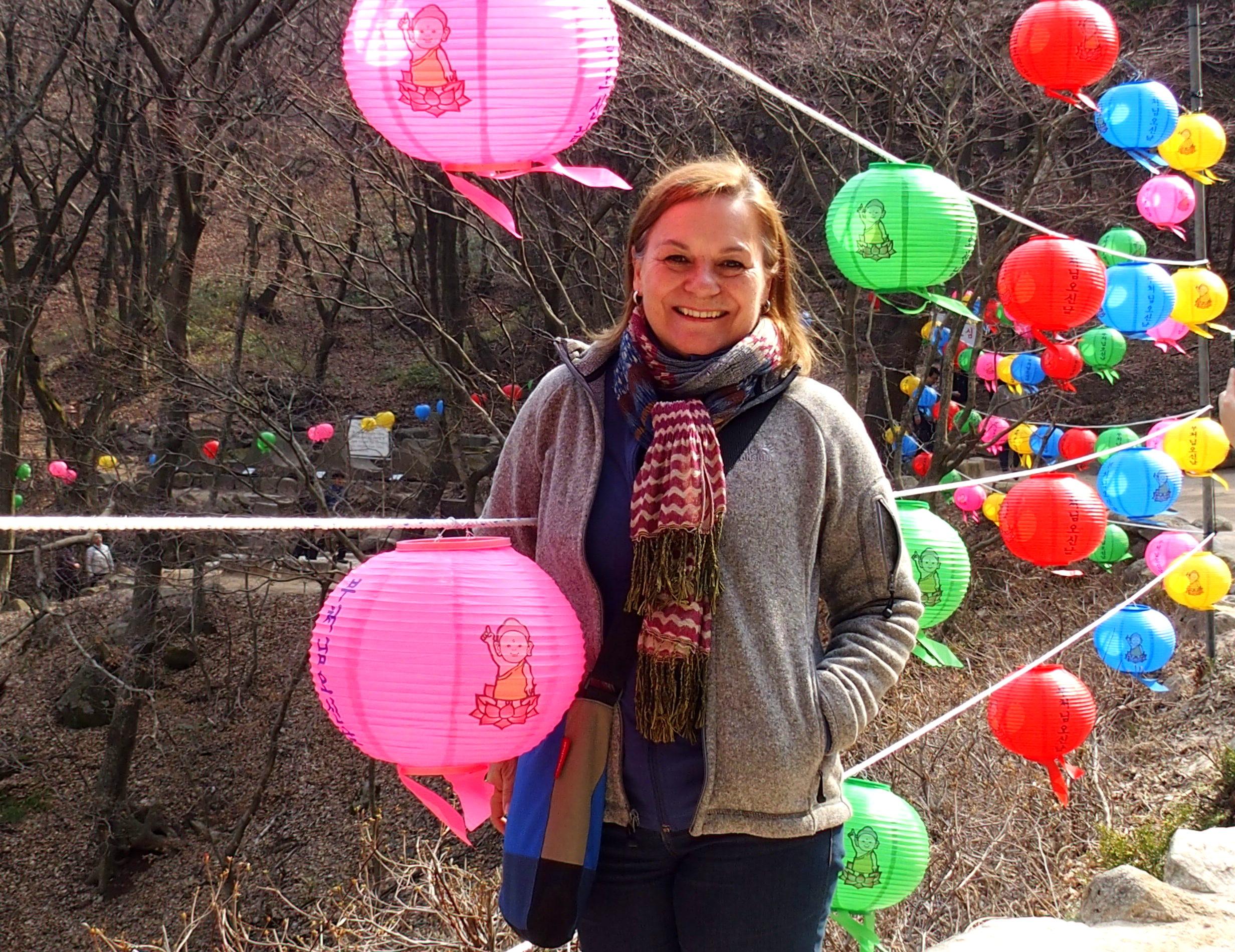 Sur la route du temple Bulguska Gyeongju