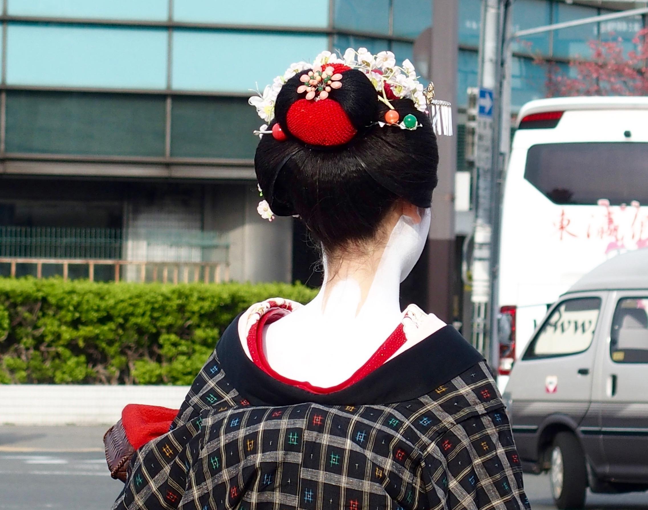 Geiko ou Maïko Kyoto Japon
