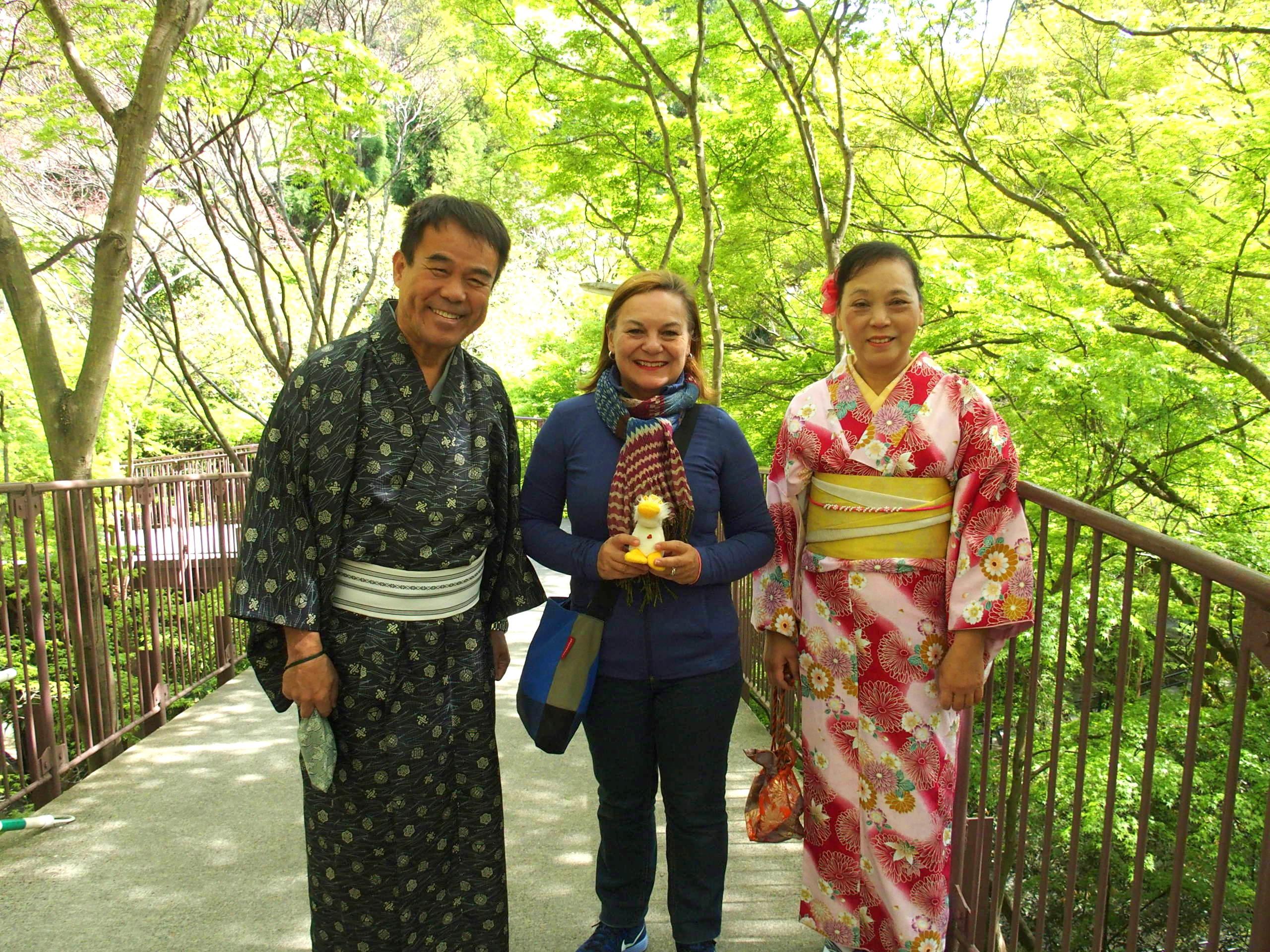 Visite de Kanazawa et rencontre avec un couple de Japonais