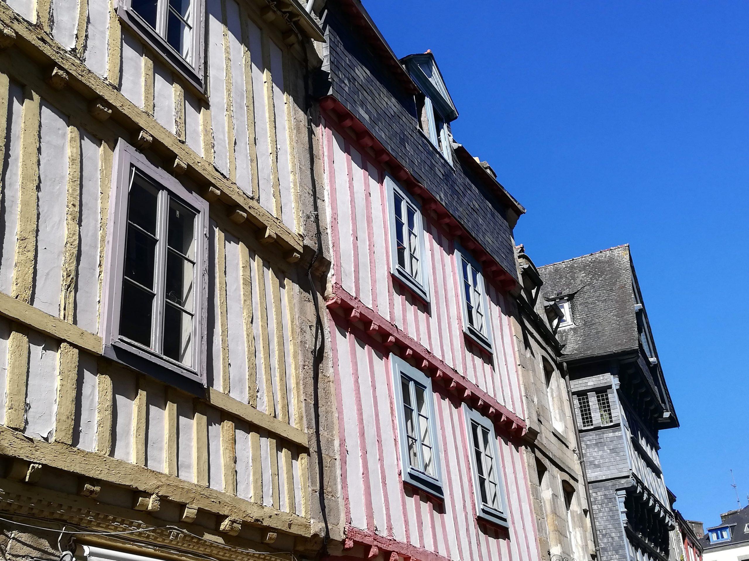 Maisons à colombages Quimper Bretagne