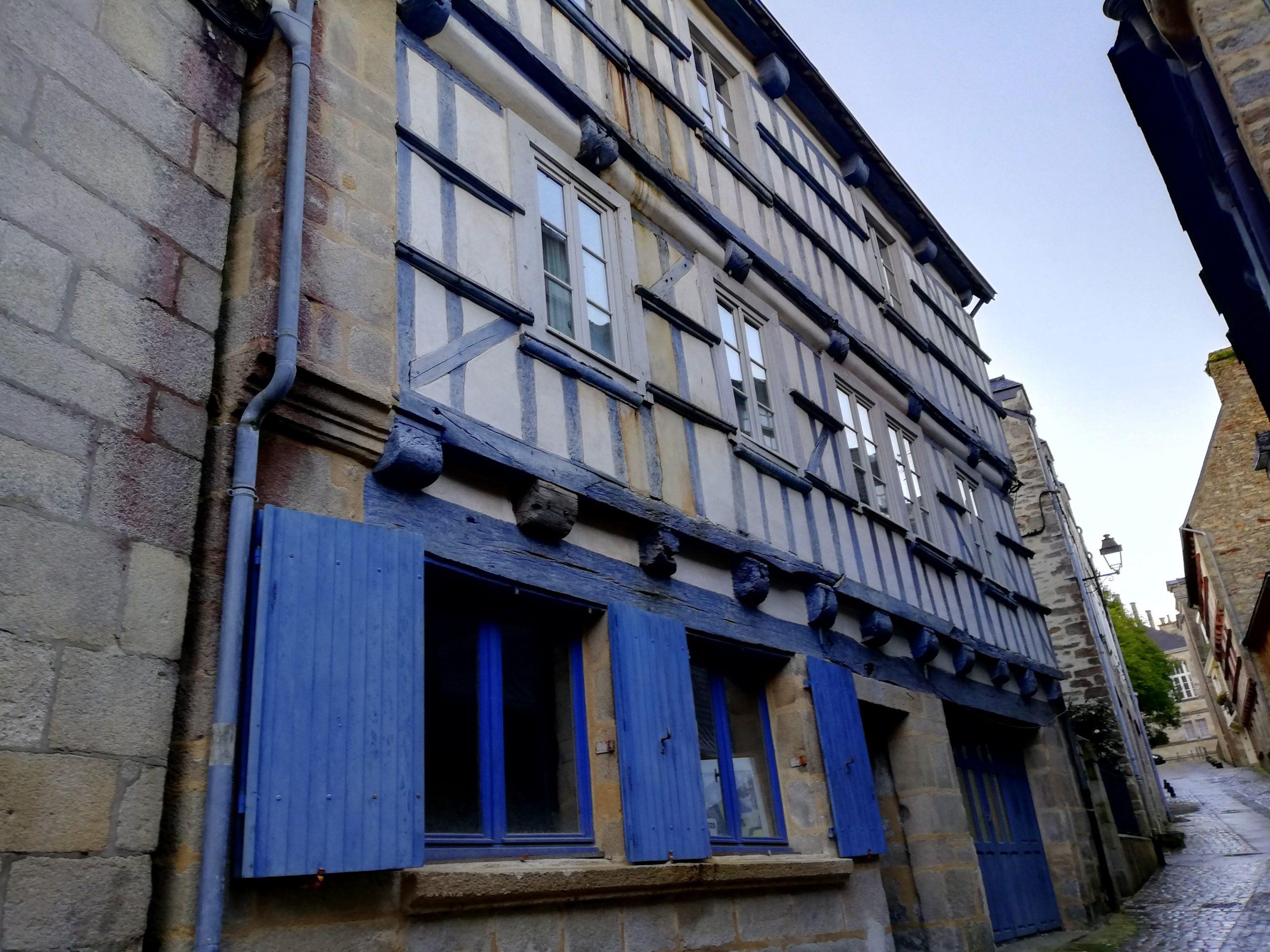 Rue du Lycée Quimper Bretagne