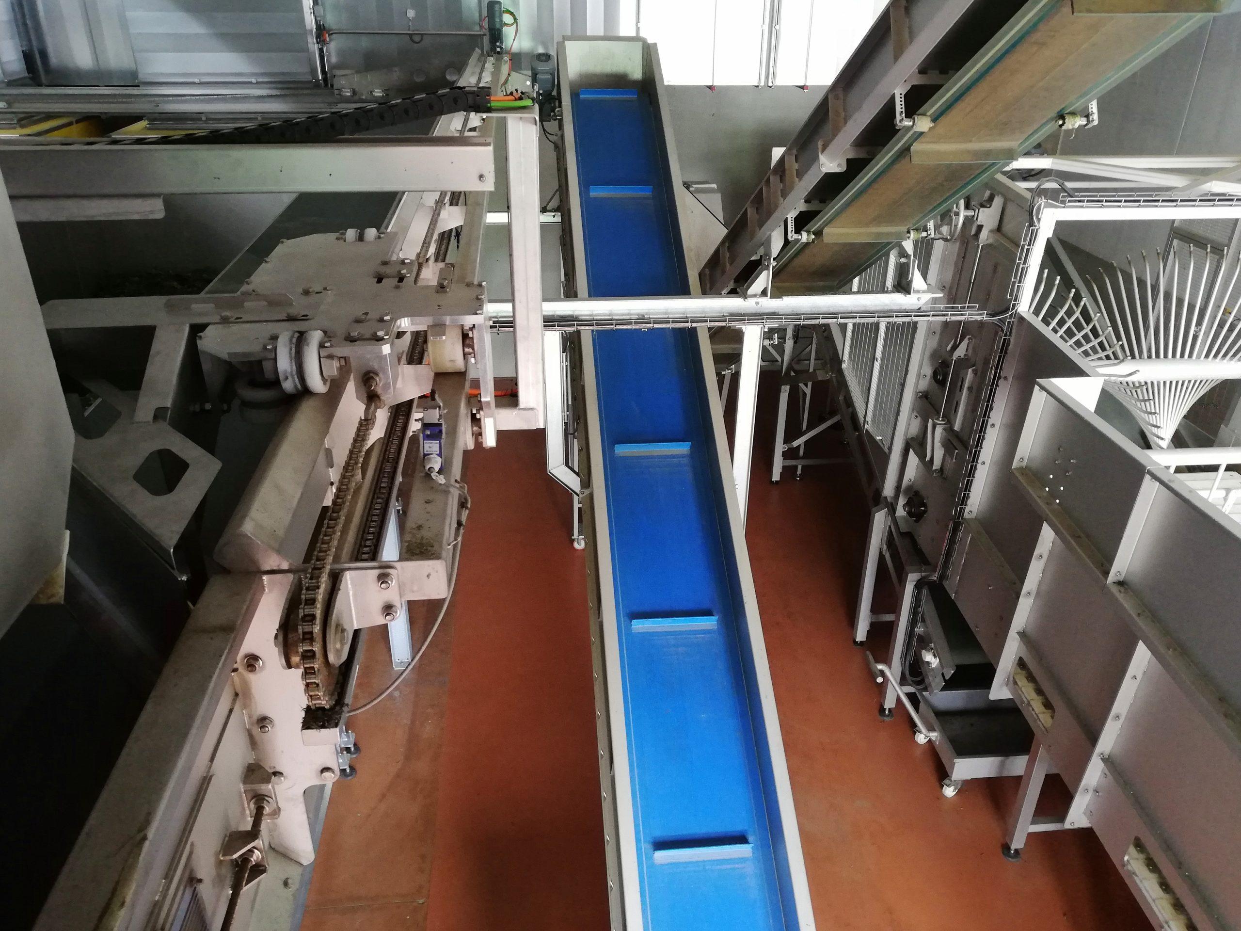 Mécanisation des opérations chez Valplantes Sembrancher Suisse