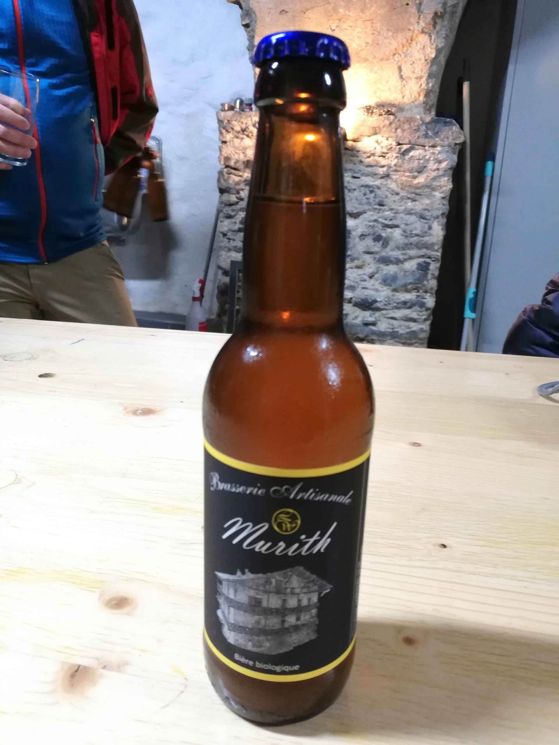 Slow Food Travel et Bière bio Murith