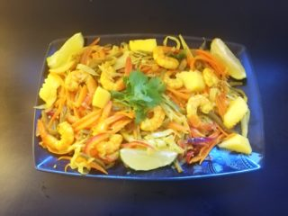 Recette des achards de légumes aux crevettes épicées – Océan indien